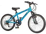 "Schwinn Remix 20"" Wheel Smartstart Boys Front Suspension Bike, 6 Speed, Blue"