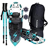 Best Snowshoes For Women - FLASHTEK 25 Inches Snowshoes for Men and Women Review