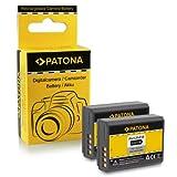 PATONA 2X Batterie LP-E10 Compatible avec Canon EOS 1100D 1200D Rebel T3 T5