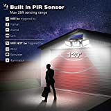 Photo #8: Solar Motion Sensor Lights by AmeriTop Featuring 800LM Wireless LED Lights 2 Pack