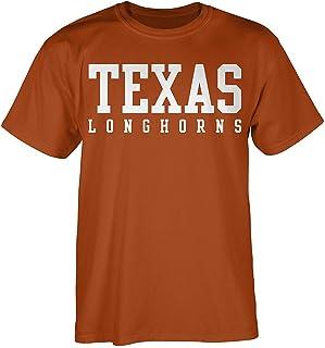 Elite Fan Shop Texas Longhorns Tshirt Bold Orange