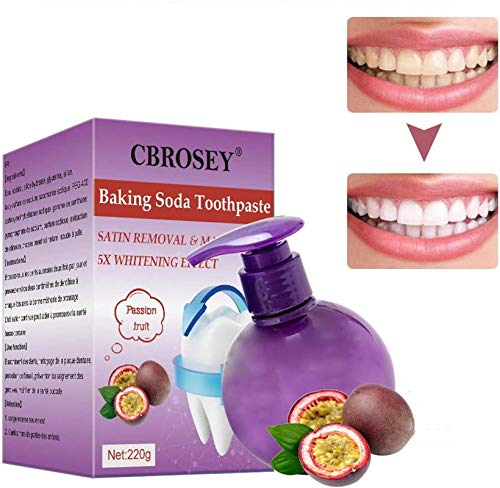 Stain Removal Toothpaste,Baking Soda Toothpaste,Whitening Zahnpasta,Zahnweiss Zahnpasta,Intensive Stain Removal Whitening Toothpaste,Soda Zahnpasta Intensive Fleckenentfernung Zahnpasta