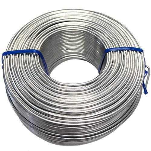 HD Galvanized Rebar Tie Wire - 16 Gauge/GA, 3 1/8lb, 340ft/Roll