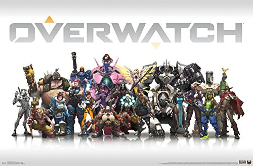 Trends International Overwatch - Group, 22.375' x 34', Unframed Version