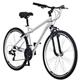 Schwinn Network 3.0 700C Men's Hybrid Bicycle, White/Blue, Model Number: S4026CAZ