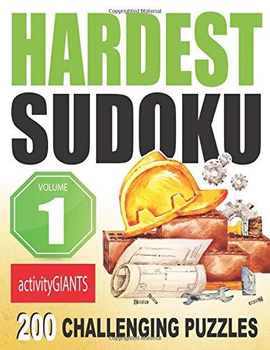 Hardest Sudoku Volume 1 200 Challenging Puzzles