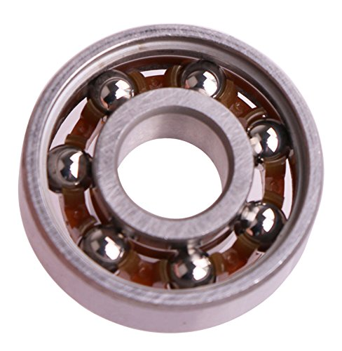 Mini Skater 608 Stainless Steel Bearings High Speed Replacement Bearing Use for Toy with 1.5~2 Minutes Rotating time (16 Pcs,Stainless Bearings)