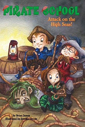 Attack on the High Seas! #3 (Pirate School) by James, Brian (2007) Paperback