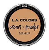 L.A. COLORS Cream To Powder Foundation - Nude