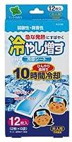 紀陽除虫菊 冷却シート 冷やし増す 大人用 12枚入 ミントの香り K-2165
