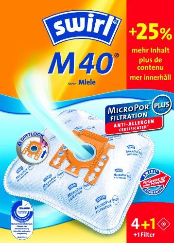 Swirl 209422 Filtre à poussière Sacs