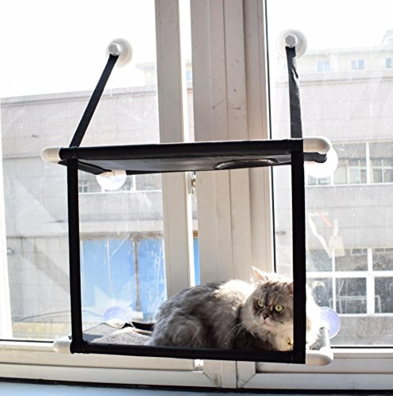 QYDSHDBQWIPet Parade cat Habitat cat Hammock Sun seat Window  ,DoubleDeck