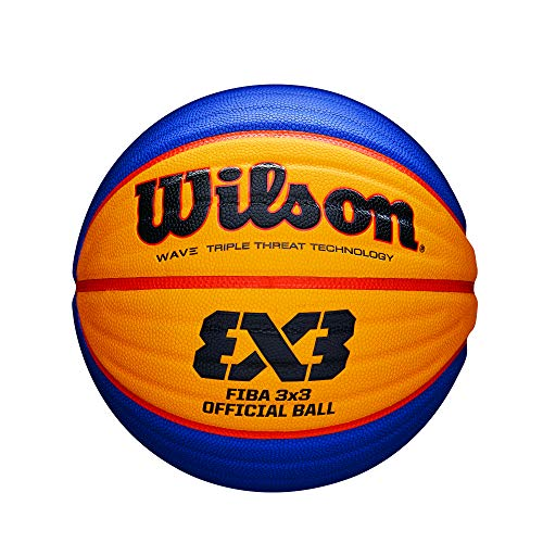 Wilson WTB0533XB Pelota Baloncesto Fiba 3x3 Caucho