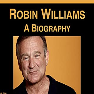 Robin Williams: A Biography audiobook cover art