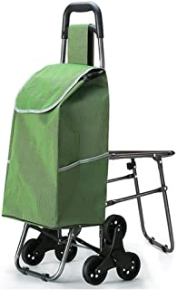 Practical With A Chair, Climbing A Shopping Cart, an Old Grocery Shopping Cart, A Small Cart, A Trolley, A Folding Trolley...
