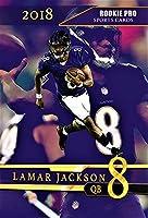 2018 LAMAR JACKSON Rookie Card - Custom Rookie Pro Football Card