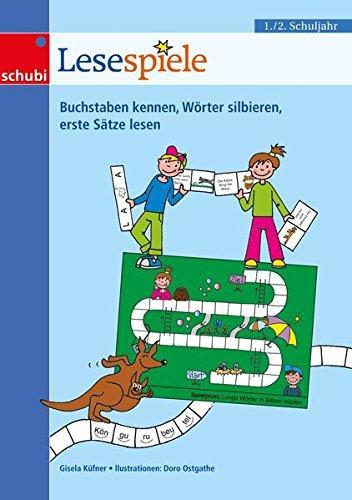 Lernspiele für den Deutschunterricht: Lesespiele 1/2: 1. / 2. Schuljahr: 17...