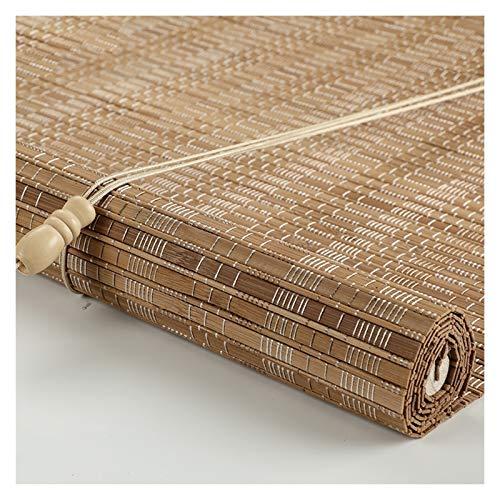 CHAXIA Bambú Persiana Ventana Enrollable, Sala Dividir Hogar Decoración Retro Cortina Colgante Fácil De Limpiar, 2 Colores Varios Tamaños (Color : A, Size : 150cmx220cm)