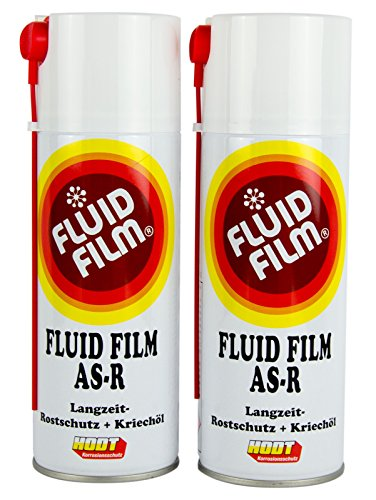 2x FLUID FILM AS-R Rostschutz Korrosionsschutz Hohlraumversiegelung 400 ml