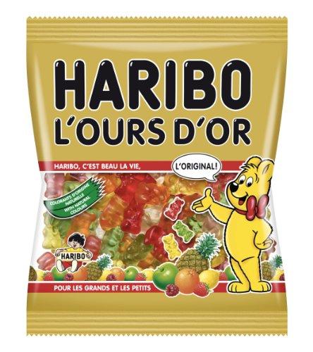 Generique - Sachet Bonbons Haribo Lours dOr 120 g.