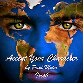 Accent Your Character - Irish audiobook cover art