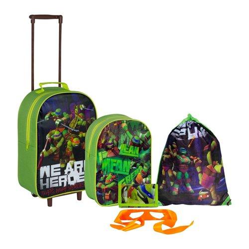 Sambro Teenage Mutant Ninja Turtles Luggage Set (5-Piece)