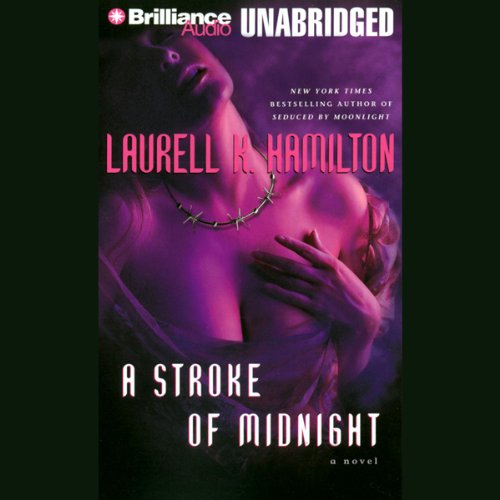 A Stroke of Midnight audiobook cover art