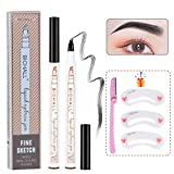 Best Dyeing Eyebrows - Microblading Eyebrow Pen, Micro-Fork Tip Eyebrow Pencil Four Review