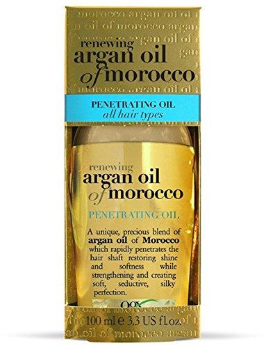 Organix Renewing Moroccan Argan Penetrating Oil, 3.3 FZ (Pack of 6)