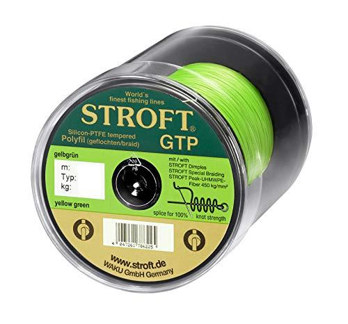 WAKU Schnur STROFT GTP Typ S Geflochtene 500m Gelbgrün S4-0,220mm-10kg