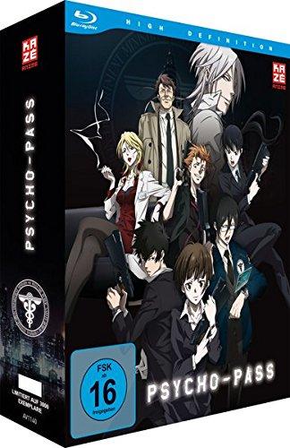Psycho-Pass - Staffel 1 - Vol.1 - [Blu-ray] mit Sammelschuber [Limited Edition]