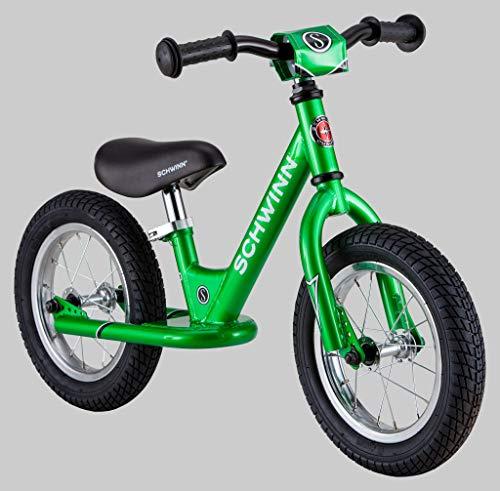 Schwinn Skip 1 Toddler Balance Bike, 12-Inch Wheels, Beginner Rider Training, Green