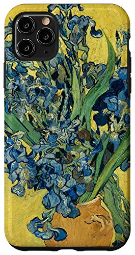iPhone 11 Pro Max Vincent Van Gogh Still Life Irises Aesthetic Vintage Floral Case