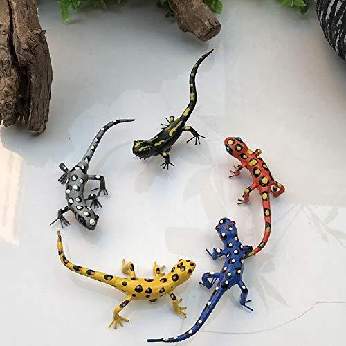 XINTIAN Nueva Zelanda Lizard Gecko Modelo Pizarra Pizarra Ayuda Enseñanza Pegatinas Animal Nevera Imán Decoración de simulación al aire libre