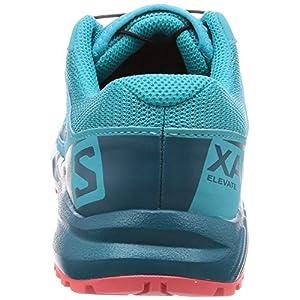 Salomon Kids' XA Elevate J Trail Running Shoes, Bluebird/Deep Lagoon/Dubarry, 5
