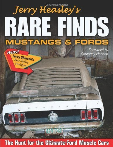 Jerry Heasley's Rare Finds: Mustangs & Fords (Cartech) by Jerry Heasley (2012-10-15)