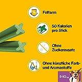 Pedigree DentaStix Fresh Hundesnack für kleine Hunde (5-10kg), Zahnpflege-Snack mit Eukalyptusöl und Grüner Tee-Extrakt, 10 Packungen je 7 Stück (10 x 110 g) - 5