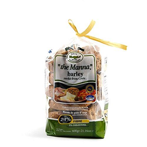 Tsatsaronakis the Manna Greek Barley Bread Big Cretan Rusk 600g