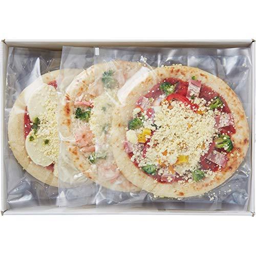≪お中元 御中元 夏ギフト≫ 北海道チーズピザ3枚 ≪のし可・着日指定可≫