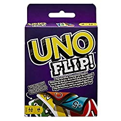 UNO FLIP is the classic card game you know, now with an exciting new twist A double-sided deck and special FLIP card give classic gameplay a competitive edge Play the special FLIP card and all cards are turned over, including the draw pile, to rev...