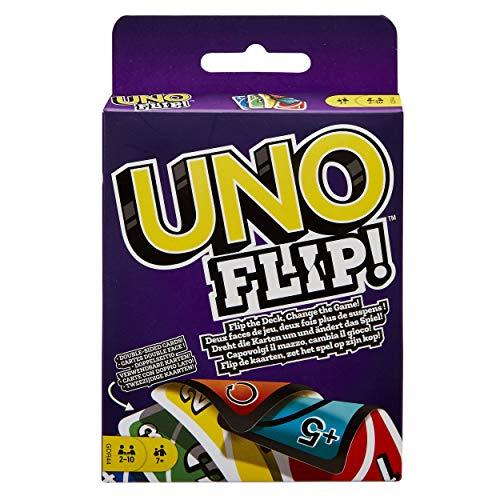 Games UNO: Flip! - Card Game, Multicolor, Standard () - Mattel GDR44