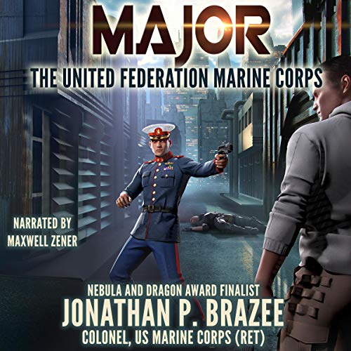 Major audiobook cover art