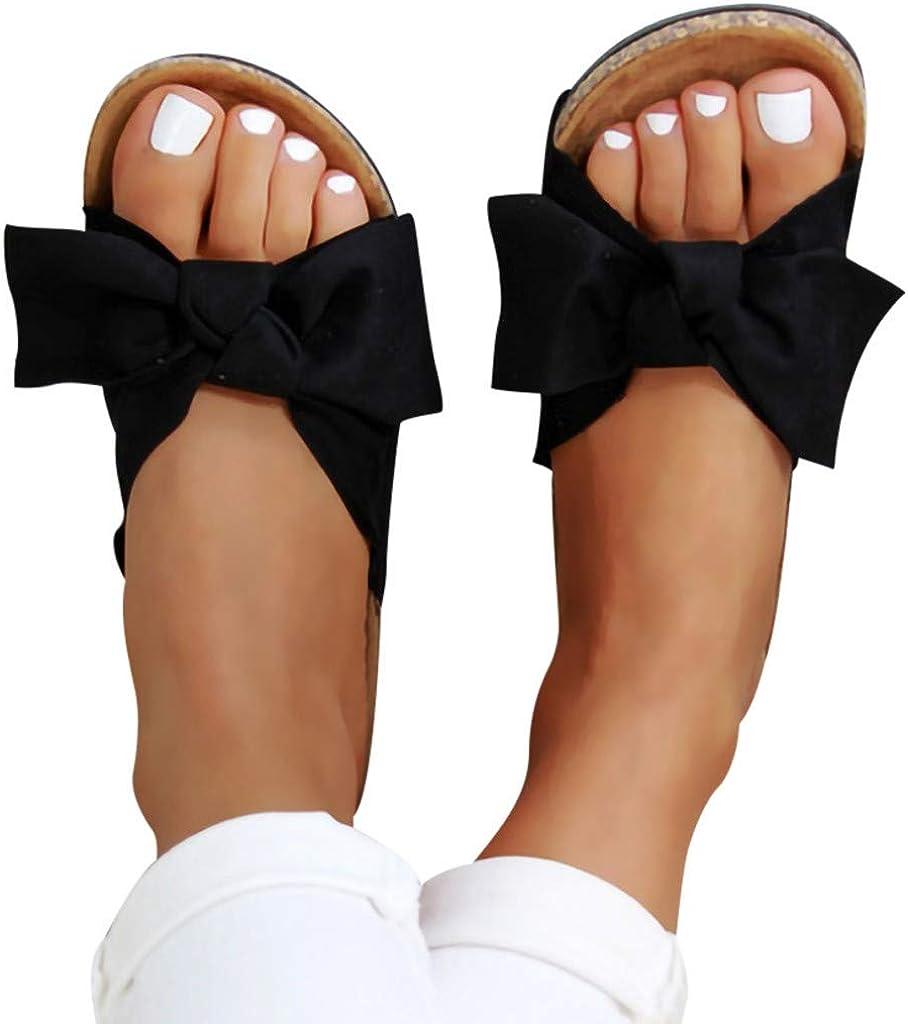 AODONG Sandals for Women Flat,2021 Snakeskin Comfy Platform Sandal Shoes Summer Beach Travel Slipper Flip Flops