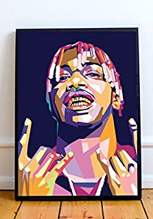 Abstract Art Prints Lil Yachty Limited Poster Artwork - Professional Wall Art Merchandise (More Sizes Available) (8x10)