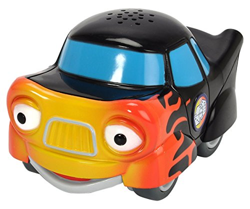 Dickie Toys- Helden Der Stadt-Tobi Turbo Coche de Juguete eléctrico con Tarjeta de colección. (203121001)