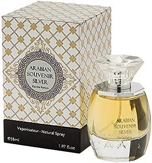 Silver by Arabian Souvenir Unisex - Eau de Parfum, 55ml, ARS-U87502