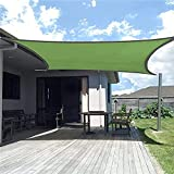 DTKJ Freie Seile, Picknick, Schattenüberdachung für Terrasse, rechteckige Markise, UV-Block-Sonnensegel, wasserdicht, Party, Outdoor, Schwimmbad, A, 2 x 3 m