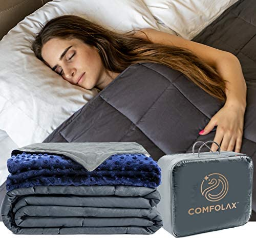 Top 10 Best sleep therapy weighted blanket with minky soft sonno dots Reviews
