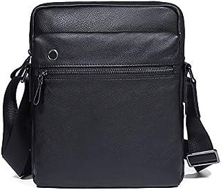 DUSONGWEI Men's Shoulder Bags Black Men's Bags Small Shoulder Bags Casual Business Men's Bags