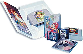 Enabled Universal Video Game Case with Full Sleeve Insert (3-pack) - Super NES